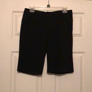Bermuda length Forever 21 black dress shorts